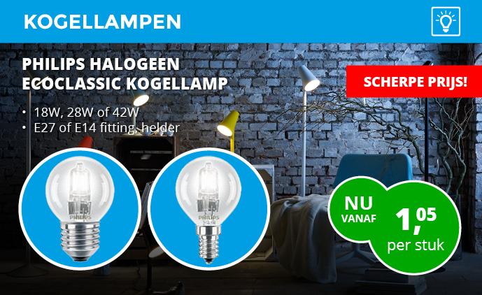 Philips Eco Halogeen alle soorten en maten