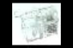 Blueline Telefoon 7120 Modulaire Plug Hoorn RJ10 4P4C Bls10