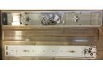 Armatuur voor een Led TLBuis 2x18w Waterdicht 650 x 60mm