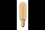 Calex LED Filament Buis 35W 270lm E14 T25x85 Gold 2100K Dimbaar