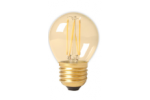 Calex LED Filament Kogellamp 35W 200lm E27 Gold 2100K Dimbaar