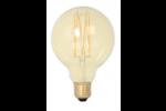 Calex LED Filament Globelamp 4W 320lm E27 G95 Gold 2100K Dimbaar