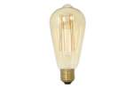 Calex LED Filament ST64 4W 320lm E27 Rusttiek Gold 2100K Dimbaar
