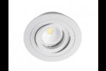 Cristalrecord Inbouwspot Wit Rond kantelbaar 80/93mm 01-010-00-000