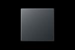 Jung A550 Afdek Wipvlak Wissel A590BFANM Antraciet Mat