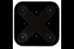 Arditi Casambi Bluetooth 800671 Zender Wandschakelaar XPRESS Zwart