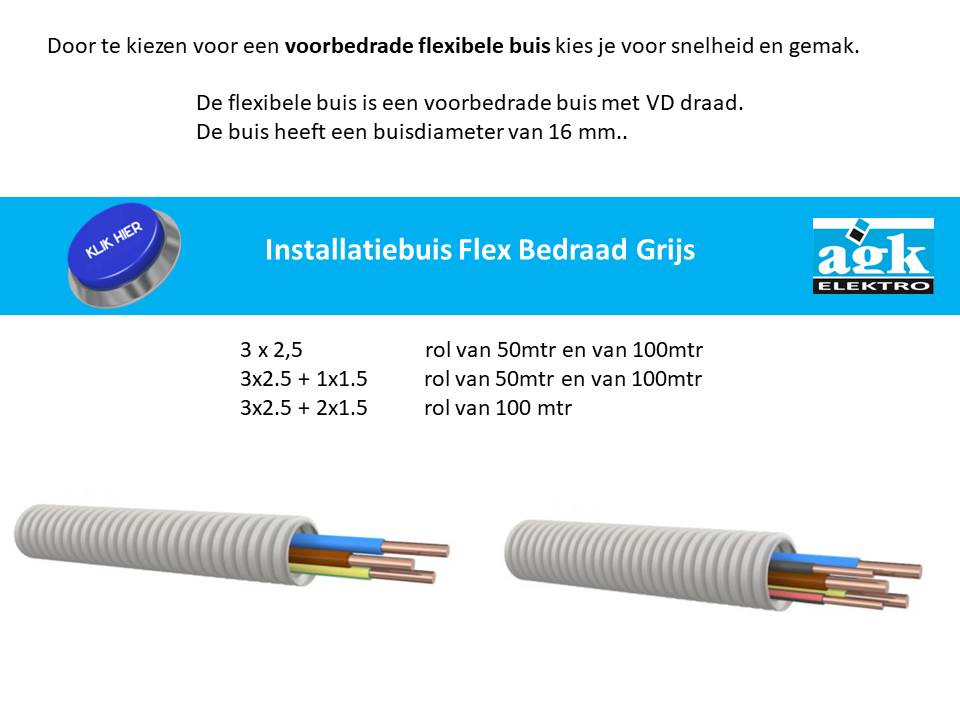 Flexibel Bedraad Installatiebuis