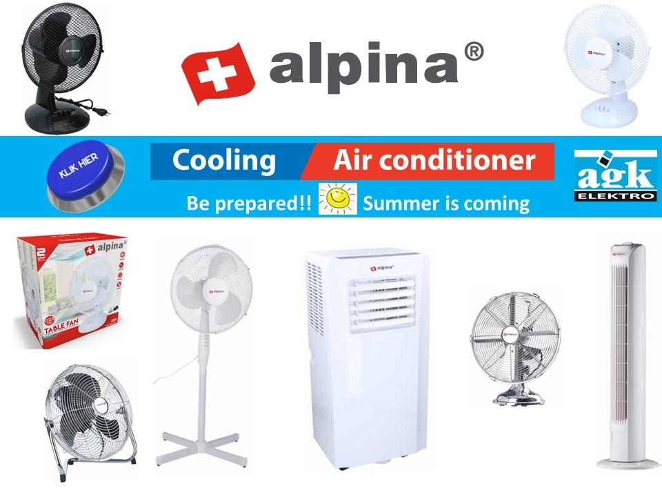 Alpina Ventilatoren en airco